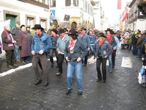 LineDancer im Vallendarer Karnevalszug 2010