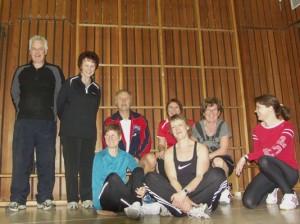 Training der BodyWorkout-Gruppe im Dezember 2010